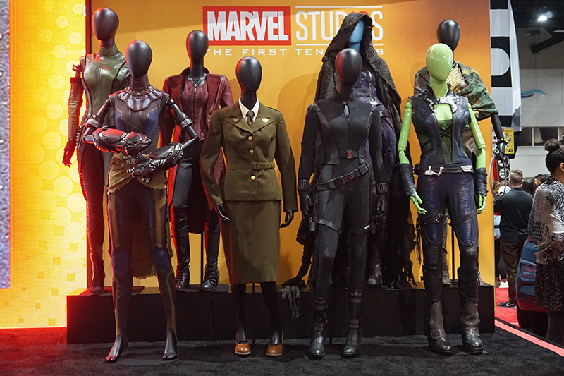 featured – San Diego Comic-Con 2018 (Marvel Booth, Costumes